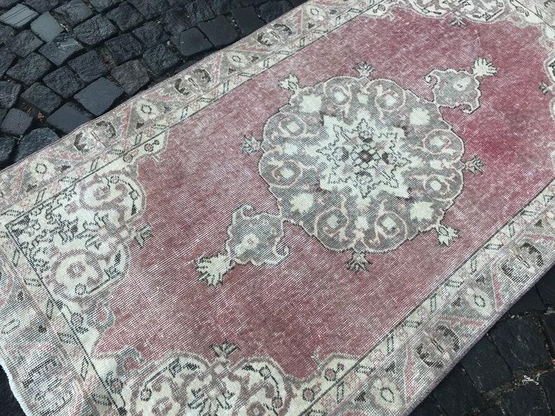 204 x 110 CM = 6,69 x 3,60 Ft Oriental rug Ethnic rug Bohemian area rug Turkey Rug Bohemian wool rug Vintage Rug Area rug