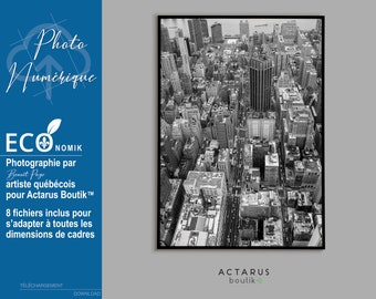 Printable poster, Urban poster, Poster NYC, Black and white poster, original photography, wall art, wall print