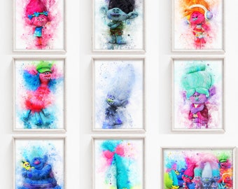 Trolls Pictures To Print
