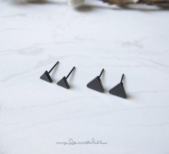 Stainless Steel 316L Grade Stud Earring Triangle Earring