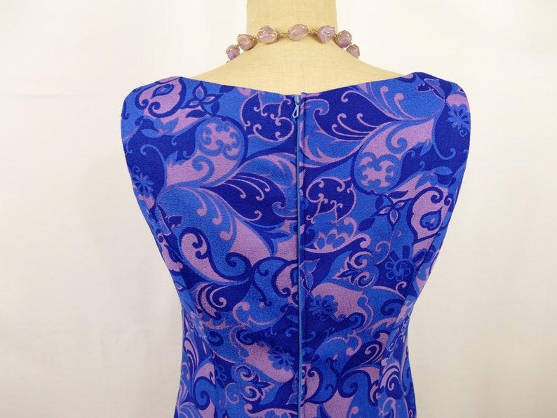 70s trapeze dress