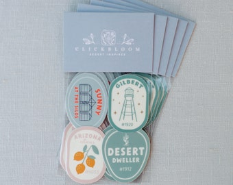 Sunny in Gilbert Sticker Pack