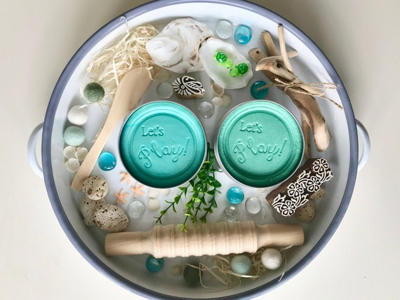 Ocean Play Dough Kit by OCwK