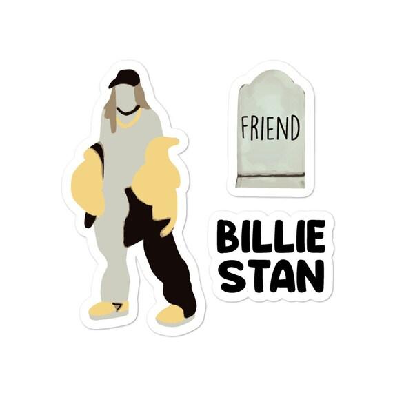 Billie Eilish Inspired Vinyl Decal Vinyl Sticker
