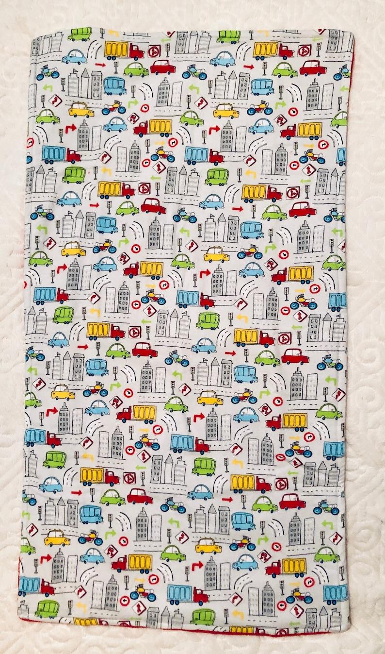 City Streets Baby Blanket