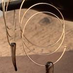 Large gold hoop earrings 14 K Gold filled Hoop, Delicate Spiral cat eye hoop earrings, Hoop Jewelry