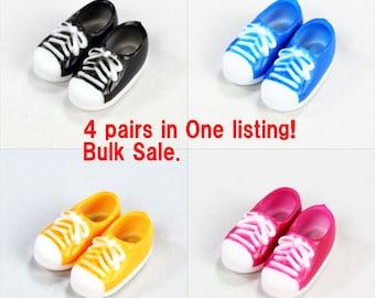 OB11 Genuine Obitsu Sneaker Shoes 4 pair set for Obitsu11  body