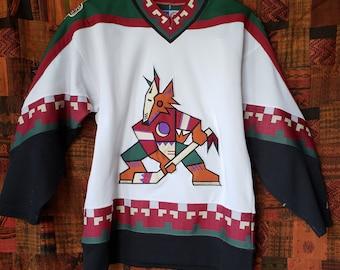 cc616c91d Vintage Hockey Jersey Phoenix Coyotes - Starter 90s Throwback - NHL
