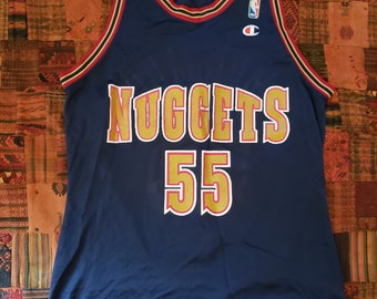 674ec463d4f NBA Vintage Jersey - Champion Denver Nuggets - basketball Mutombo