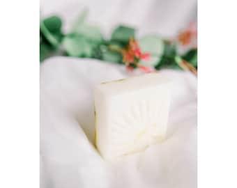 Chamomile Lavender Soap | 4.5oz Soap for Eczema Relief, Dry Skin | Sensitive Skin Safe