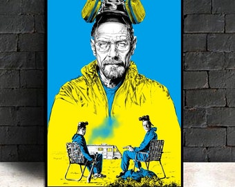 Breaking Bad Movie Poster Art Canvas Wall Picture For Living Room Home DecorNo Frame