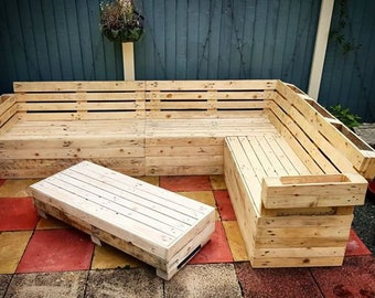 Superbe Garden Corner Sofa Set