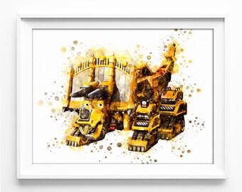Skya Printable Art Dinotrux Instant Download Printables DIGITAL Birthday Party Decor Print Poster Nursery no.0861