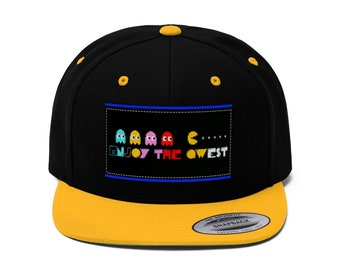 d57eb4705a7 Video Game Flat Bill Hat