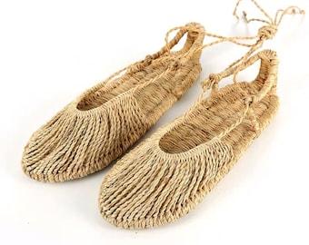 81603d63055a Handmade Straw Sandals