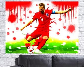 Sticker 82 England Harry Kane Road to EM 2020
