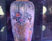 Top Quality Meiji satsuma Vase Attributed To Kinkozan.