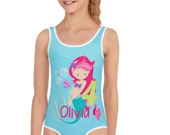 Toddler mermaid swimsuit | Etsy