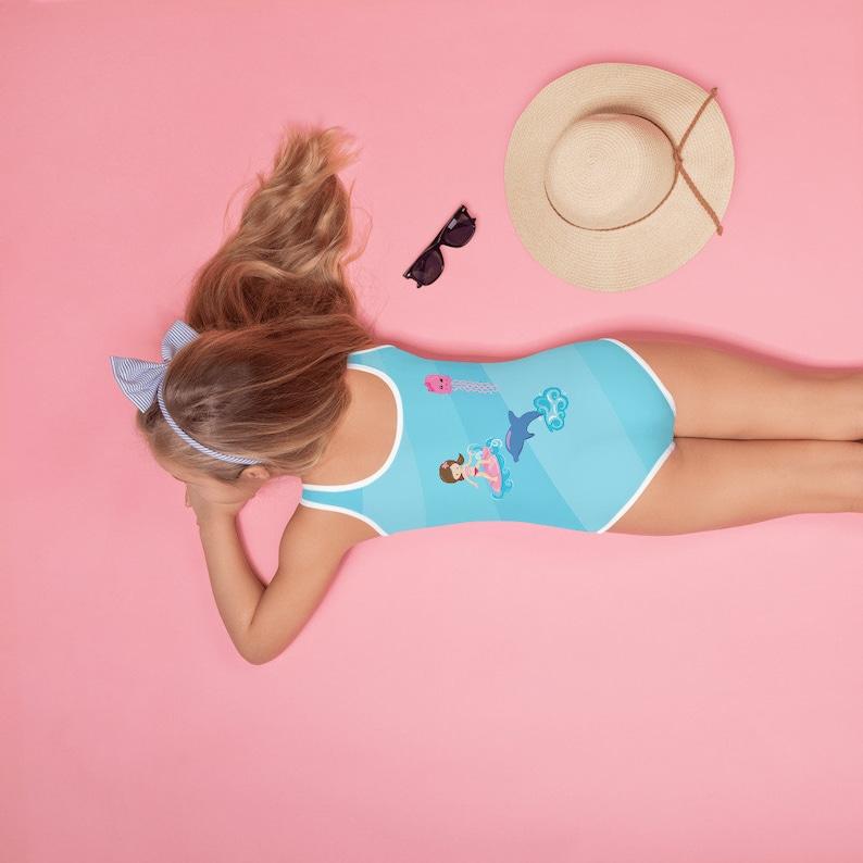 Personalized One piece swimsuit Girls Swimwear Custom Swimsuit For Girls Girls Bathing Suit Girl Swimsuit Toddler Swimsuit
