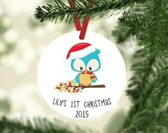 Babys First 1st Noël Flocon de neige ange sapin de Noël Ornement Cadeau Souvenir