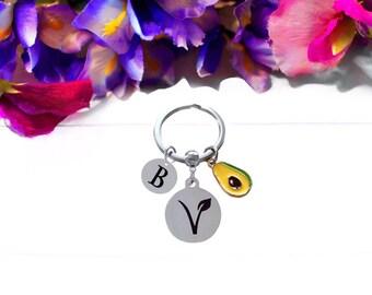 Colorful Geometric Vegan Keychain Wristlet