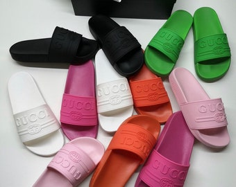 4833e61fd Gucci colorful slides