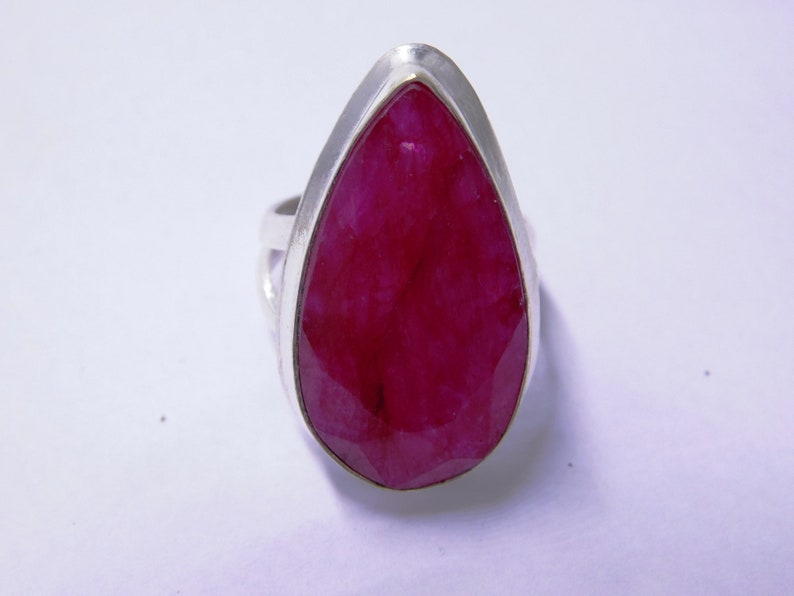 Ruby Silver Ring Propose Ring Sterling Silver Ring Ruby Ring Promise Ring July Birthstone ring Red Ruby Gemstone ring Ruby Jewelry
