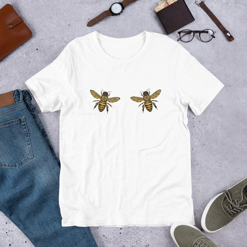 00992b30ab6c4 Gold color Boo Bees Shirt, Tshirt for bee lovers, Boobees Shirt, Beekeeper  Gift, Bee Lovers Gifts, bee happy