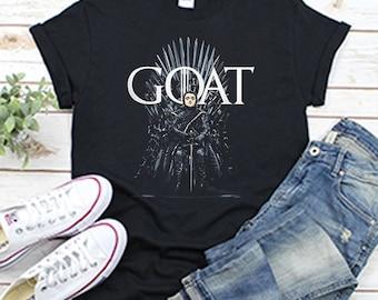 66386d9c6403 Game Of Thrones Goat Arya Stark T Shirt Black Cotton Shirt for Men and Women