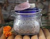 Aloha Kai Bath Salts with Red, Black, and White Sea Salts and Bentonite Clay
