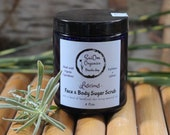 Lucious Sugar Scrub for Face & Body Organic