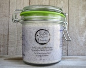 Pine Vetiver Bath Salts in Reusable Glass Jar