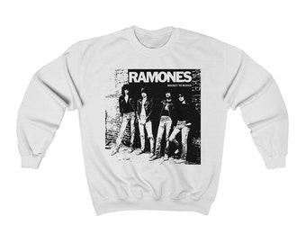 30b6a662 Ramones - Rocket to Russia Sweatshirt, Mens and Womens Sweater