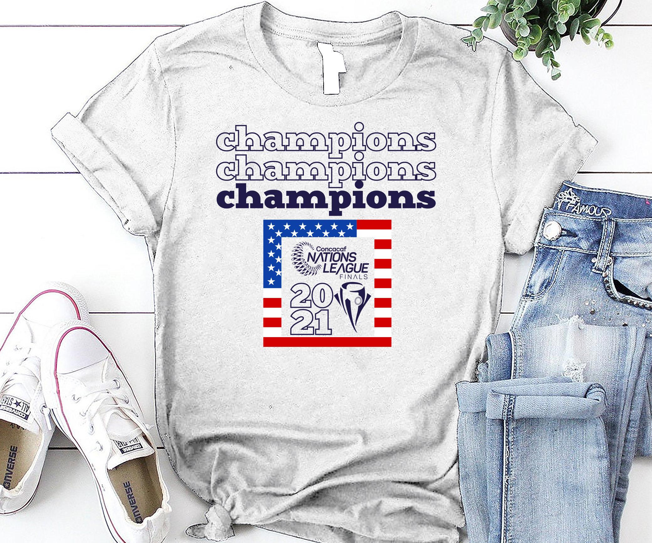 Nations League USA 2021 Champions SVG USA 2021 Svg Cut ...
