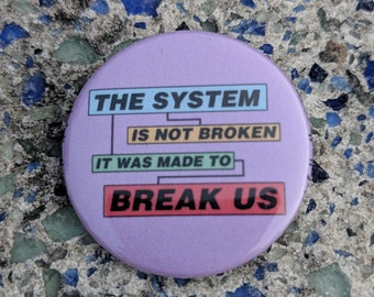 Broken System Button Pin