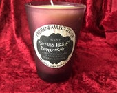 Premium oil Stress Relief Peppermint candle
