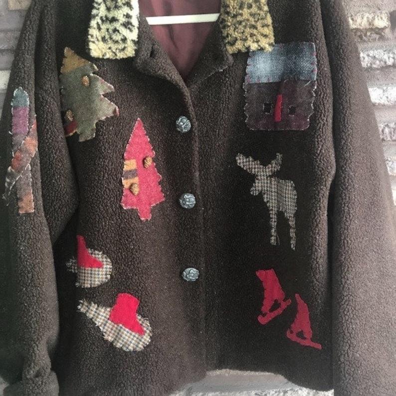 Tasha Polizzi Saddleblanket Co Fleece Jacket