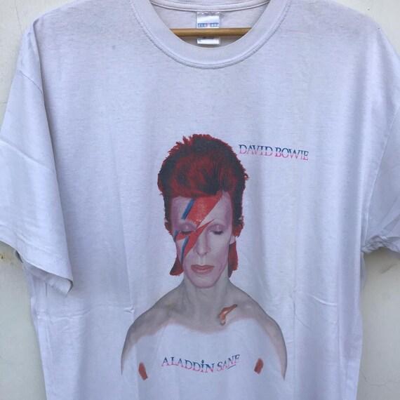 Vintage David Bowie Aladin Sane Tshirt 1998
