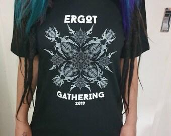 8d214ead Ergot Gathering 2019 Black T-shirts