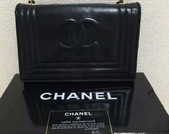77f7b479e7e3 Authentic Vintage Chanel Crossbody leather bag