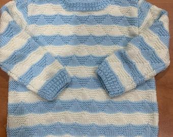 Boys handknitted jumper