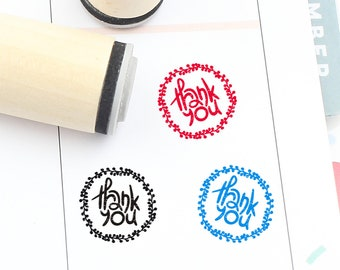 Etsy shop thank you stamp, Thank You Stamp wedding tags stamp minis34 wedding favors wedding labels stamp