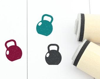 Mini Rubber Stamp Dumbbell \u00d8 1,1 cm