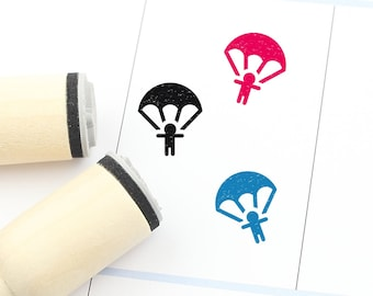 FREE SHIPPING WORLDWIDE* Liam parachute special delivery rubber stamp