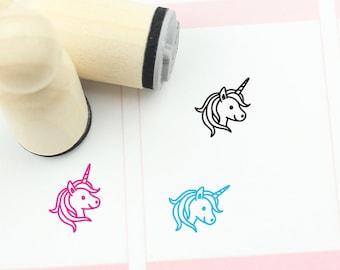 Unicorn mini stamp mint