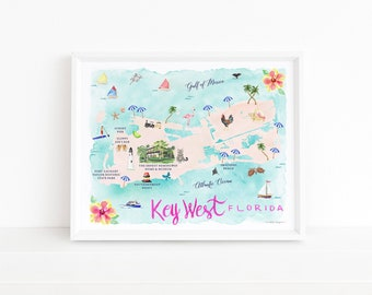 Watercolor Maps + States