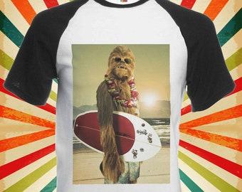 Star Wars Chewbacca Surfing Funny Cool Men Women Unisex Top Hoodie Sweatshirt 67