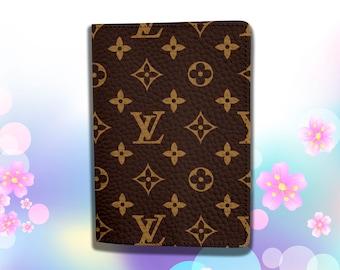 c15f0a7529fc Inspired by Louis Vuitton Passport holder Gift Travel wallet Passport case  man/woman Leather Passport cover Travel Leather Passport Holder
