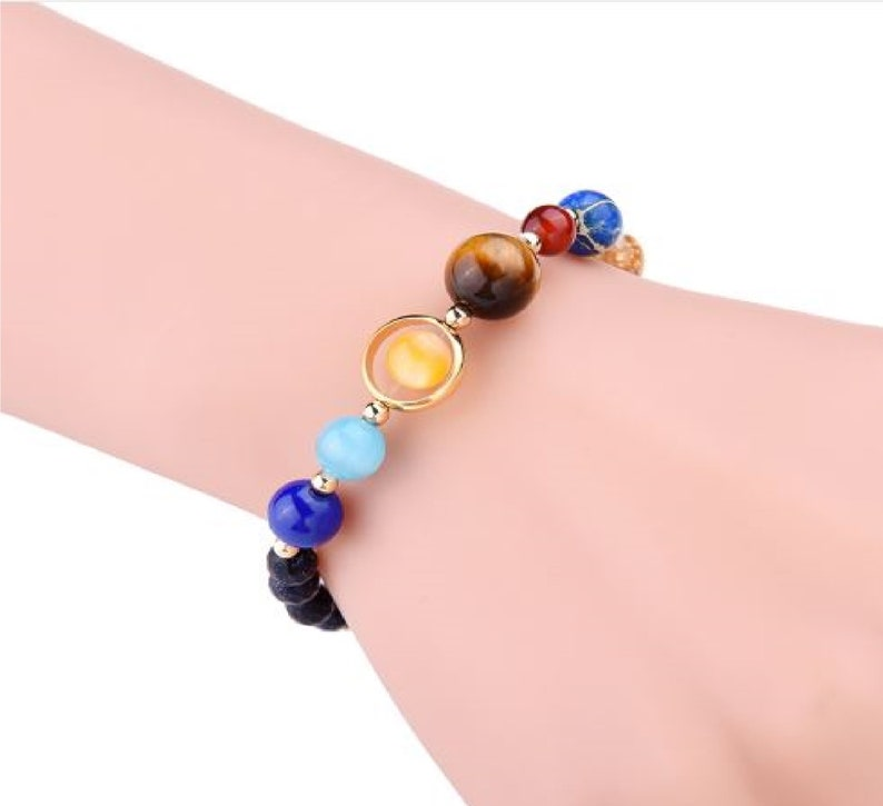 Out of This World Gemstone Bracelet