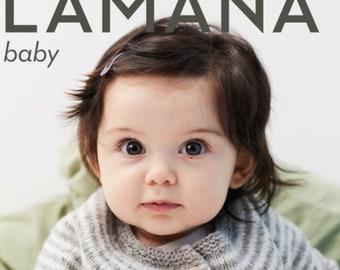 Lamana Magazine baby No. 03, knitting, models, baby, children, jacket, blanket, sweater, cap, shoes, instructions, gift birth, baptism, DIY